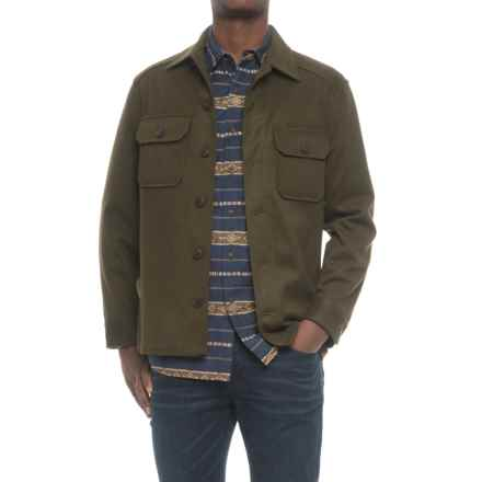 Pendleton Beaumont Shirt Jacket - Wool-Cashmere (For Men) in Dark Green - Closeouts