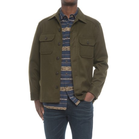Pendleton Beaumont Shirt Jacket - Wool-Cashmere (For Men) in Dark Green