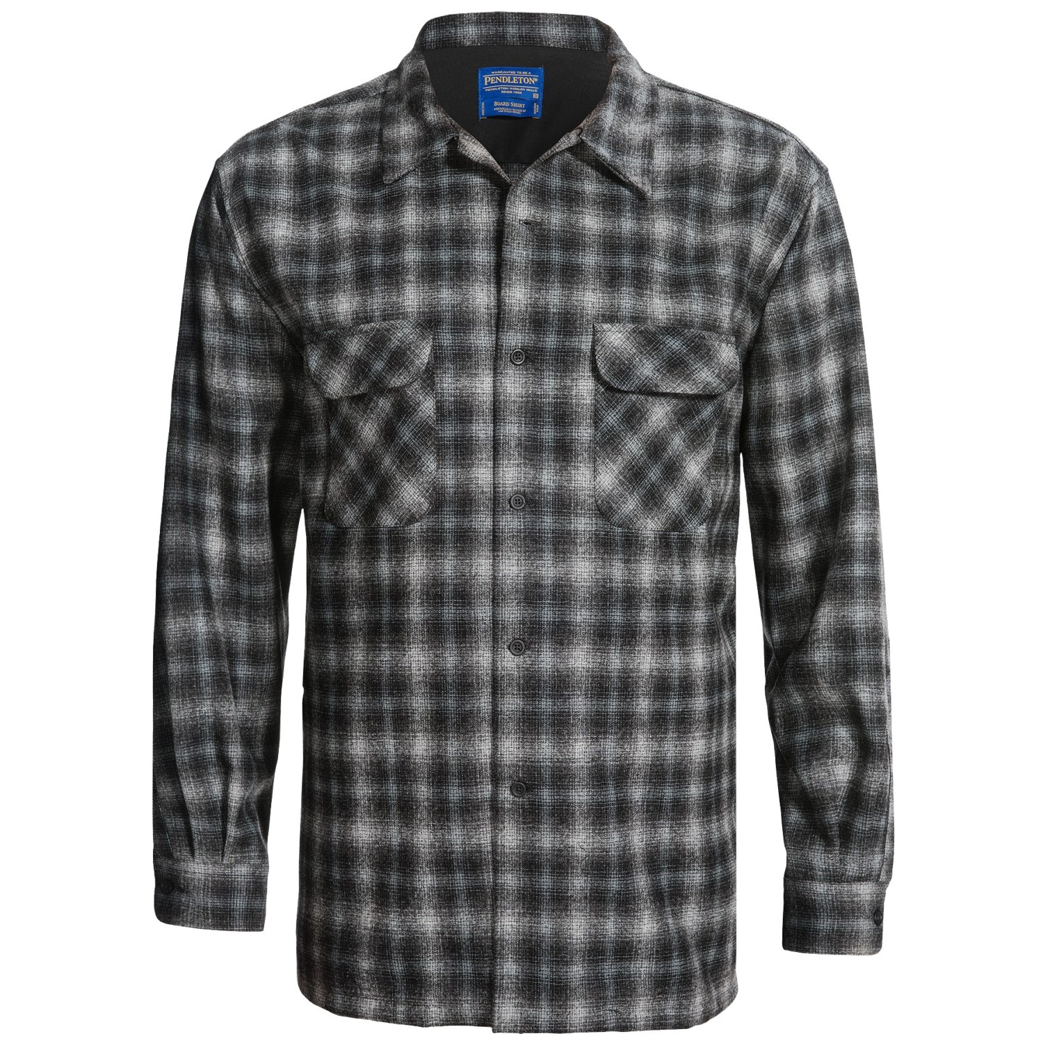 Pendleton big board shirt wool long sleeve for big for Design your own t shirt big and tall