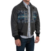 Pendleton Big Horn Wool Jacket (For Men) in Charcoal Jerome - Closeouts