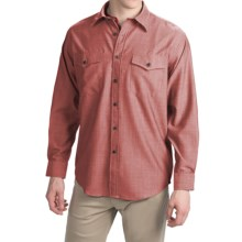 Pendleton Blaine Button-Front Shirt - Virgin Wool, Long Sleeve (For Men) in Red Chambray - Closeouts