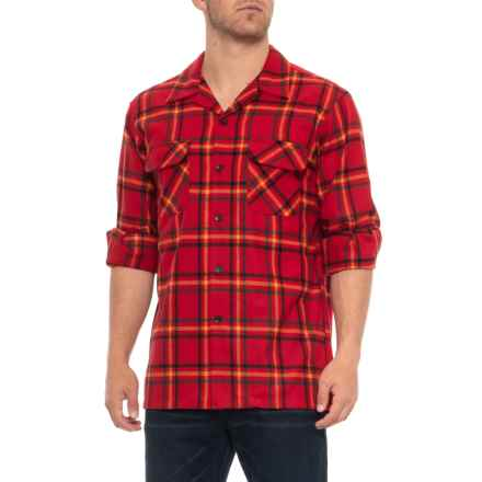 Pendleton Board Shirt - Wool, Long Sleeve (For Men) in Rainier Park Plaid - Closeouts