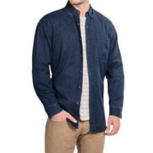 Pendleton Bridgeport Denim Shirt - Long Sleeve (For Men) in Denim - Closeouts