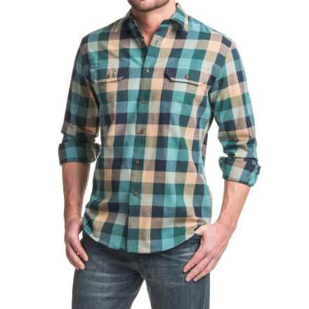Pendleton Bridger Shirt - Long Sleeve (For Men) in Blue Check - Closeouts