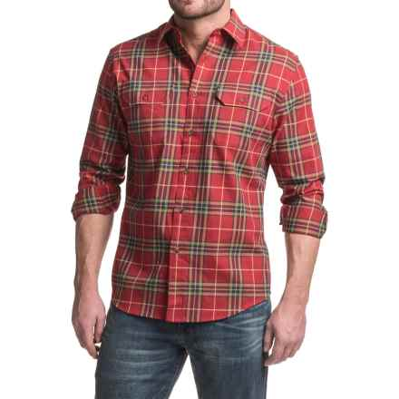 Pendleton Bridger Shirt - Long Sleeve (For Men) in Red Plaid - Closeouts