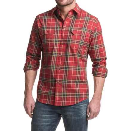 Pendleton Bridger Shirt - Long Sleeve (For Men) in Red Plaid - Closeouts