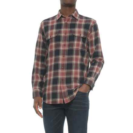 Pendleton Bridger Shirt - Long Sleeve (For Men) in Spiced Clove Plaid - Closeouts