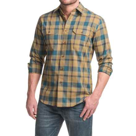 Pendleton Bridger Shirt - Long Sleeve (For Men) in Tan Plaid - Closeouts