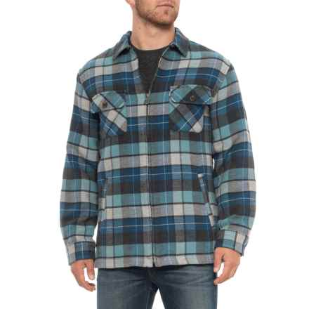 Pendleton Brightwood Shirt Jacket (For Men) in Blue Beach Plaid - Overstock