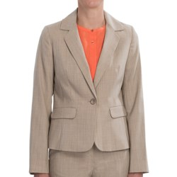 Pendleton Brooke Jacket - Stretch Wool (For Women) in Cashew Mix