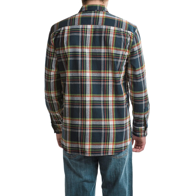 Flannel hoodie men