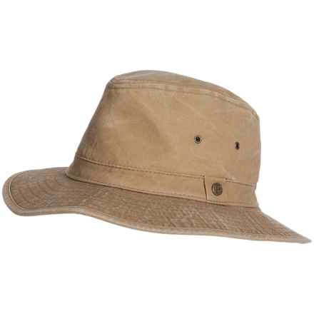Pendleton Canvas Indy Hat - UPF 50+ (For Men) in Tan - Closeouts