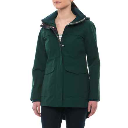 Pendleton Carmel Rain Jacket - Waterproof (For Women) in Ponderosa Pine - Closeouts