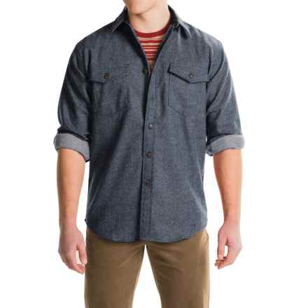 Pendleton Cascade WoolDenim Shirt - Long Sleeve (For Men) in Navy Denim - Closeouts