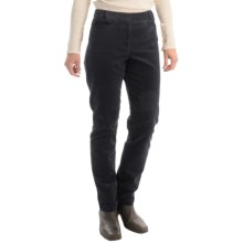 Pendleton Casey Corduroy Pants - Classic Fit (For Women) in Black - Closeouts