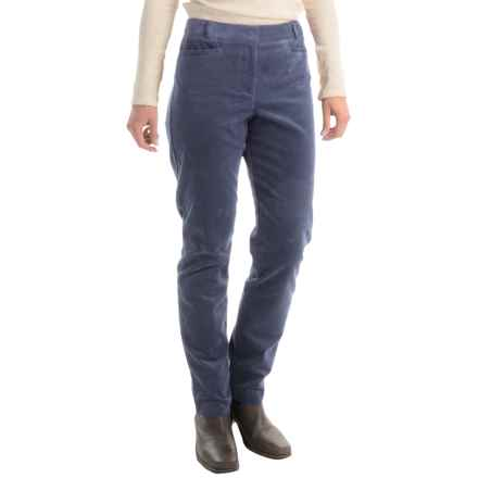 Pendleton Casey Corduroy Pants - Classic Fit (For Women) in Blue Indigo - Closeouts