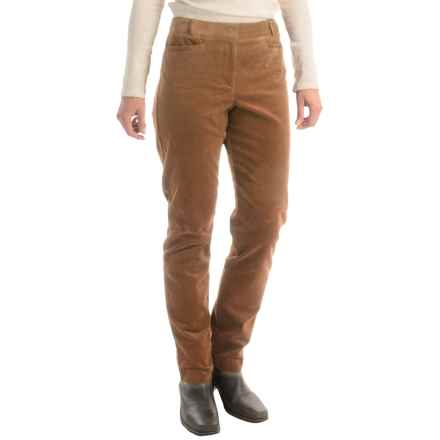 Pendleton Casey Corduroy Pants - Classic Fit (For Women) in Camel - Closeouts