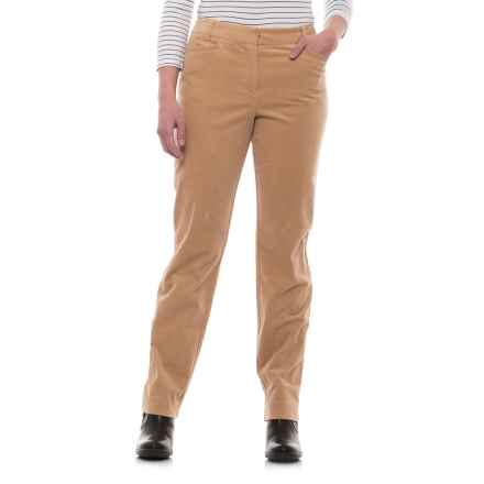 Pendleton Casey Corduroy Pants - Classic Fit (For Women) in Cameo - Closeouts