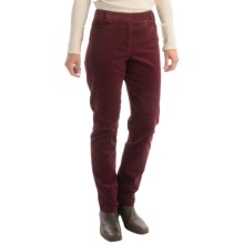 Pendleton Casey Corduroy Pants - Classic Fit (For Women) in Windsor Wine - Closeouts
