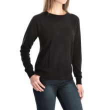 Pendleton Cashmere Jacquard Stitch Sweater (For Women) in Black - Closeouts