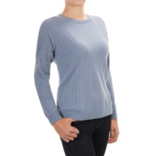Pendleton Cashmere Jacquard Stitch Sweater (For Women) in Faded Indigo - Closeouts