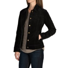 Pendleton Cassidy Stretch Corduroy Jacket (For Women) in Black - Closeouts