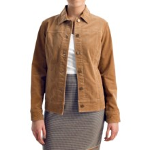 Pendleton Cassidy Stretch Corduroy Jacket (For Women) in Camel - Closeouts