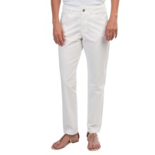 Pendleton Cassie Washed Twill Classic Fit Pants (For Women) in White - Closeouts
