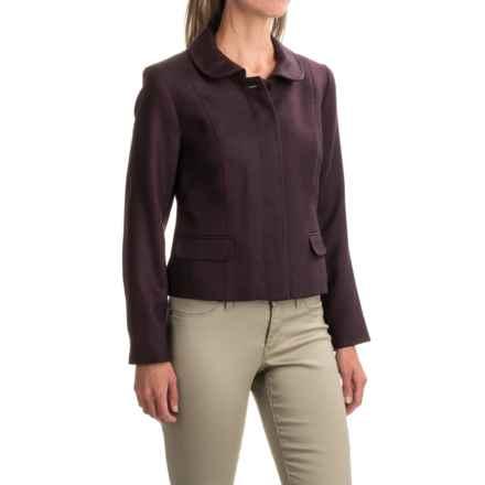 Pendleton Chevron-Print Wool Blazer (For Women) in Black/Burgundy - Closeouts