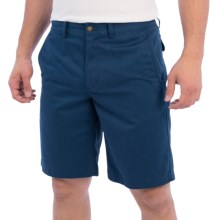 Pendleton Classic Chino Shorts - Cotton Twill (For Men) in Blue - Closeouts