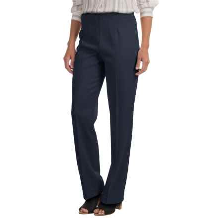 Pendleton Classic Stretch Side-Zip Pants (For Women) in Navy - Closeouts