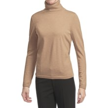 Pendleton Classic Turtleneck Sweater - Merino Wool (For Women) in Cameo Heather - Closeouts