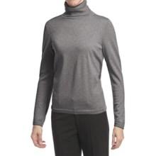 Pendleton Classic Turtleneck Sweater - Merino Wool (For Women) in Soft Grey Heather - Closeouts
