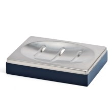 Pendleton Compass Hand-Painted Soap Dish in Blue/Red - Closeouts