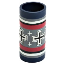 Pendleton Compass Hand-Painted Tumbler in Blue/Red - Closeouts