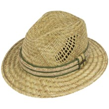 Pendleton Coos Bay Straw Hat - UPF 50+ (For Men and Women) in Natural Rush - Closeouts
