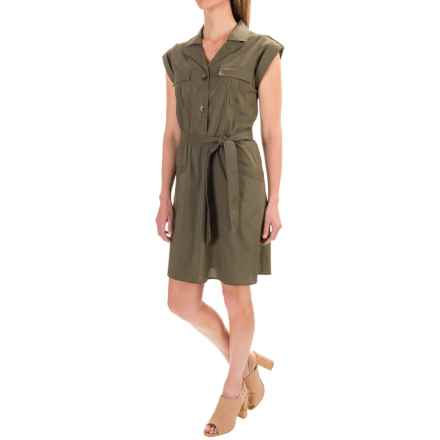 Pendleton Cora Dress - Short Sleeve (For Women) in Seagrass - Closeouts