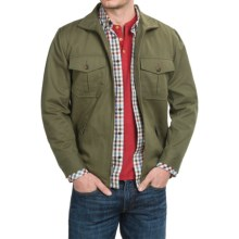 Pendleton Cotton Twill Shirt Jacket - Full Zip (For Men) in Cypress - Closeouts