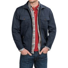 Pendleton Cotton Twill Shirt Jacket - Full Zip (For Men) in Navy - Closeouts