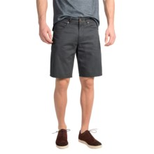Pendleton Cotton Twill Shorts - 5-Pocket (For Men) in Slate - Closeouts