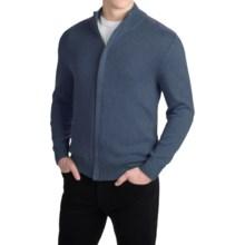 Pendleton Cotton/Cashmere Cardigan Sweater - Full Zip (For Men) in Denim Blue - Closeouts