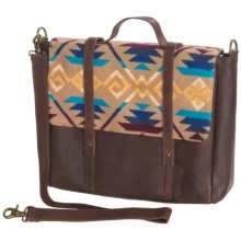 Pendleton Coyote Butte Messenger Bag in Khaki - Closeouts