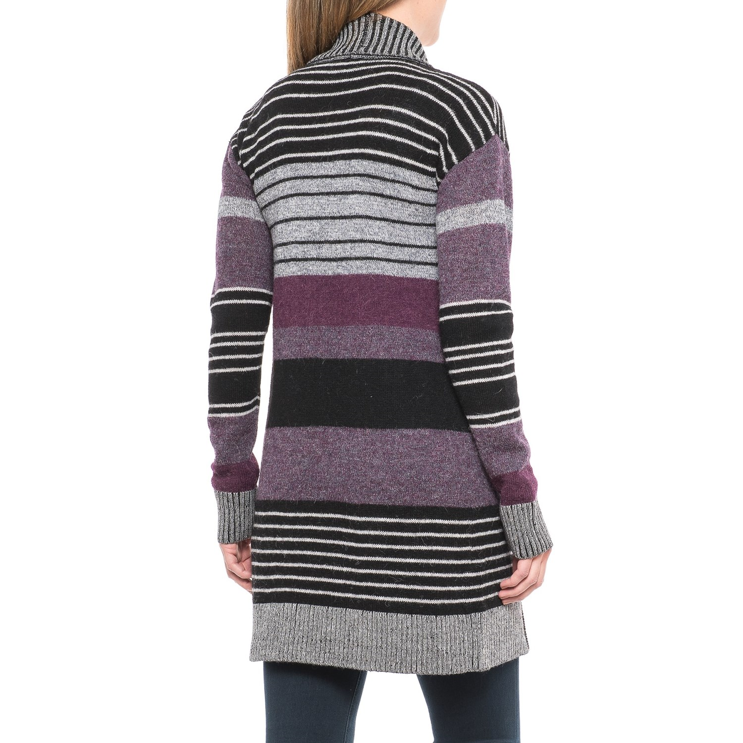 Pendleton Cozy Striped Cardigan Sweater (For Women) - Save 65%