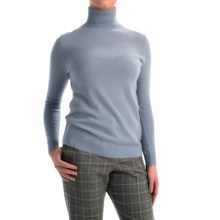 Pendleton Creme De Cashmere Turtleneck Sweater (For Women) in Faded Indigo - Closeouts
