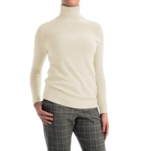 Pendleton Creme De Cashmere Turtleneck Sweater (For Women) in Ivory - Closeouts