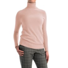 Pendleton Creme De Cashmere Turtleneck Sweater (For Women) in Pearl Blush - Closeouts
