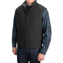 Pendleton Creswell Fleece Vest (For Men) in Black - Closeouts