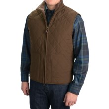 Pendleton Creswell Fleece Vest (For Men) in Dark Olive - Closeouts