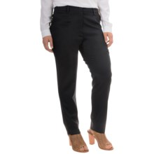 Pendleton Danielle Pants - Stretch Wool (For Women) in Black Ultra 9 - Overstock