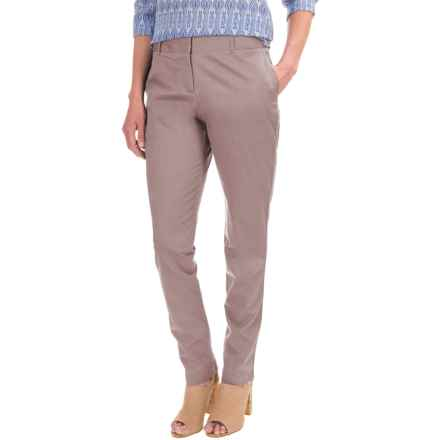 Pendleton Day after Day Chino Pants - Straight Leg (For Women) in Soft Taupe - Closeouts